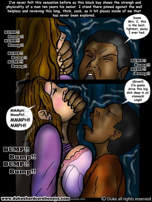 8muses Interracial Comics Sleepover- My son's black friend 1 image 04