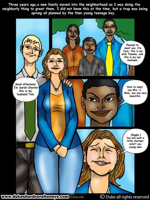 8muses Interracial Comics Sleepover- My son's black friend 1 image 07