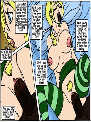 8muses Interracial Comics Son's Hot Little Blonde- Illustrated interracial image 21