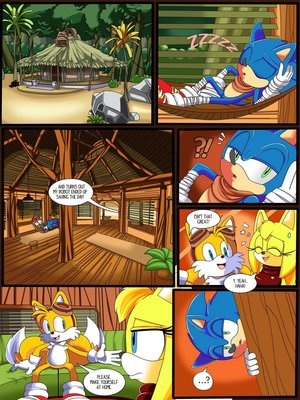Sonic hedgehog- Zooey's choice 8muses Adult Comics