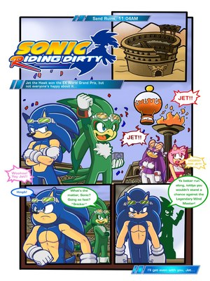 Sonic Riding Dirty- Furry 8muses Adult Comics