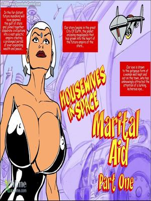 SpaceBabeCentral- Housewives in Space- Marital Aid 8muses Adult Comics