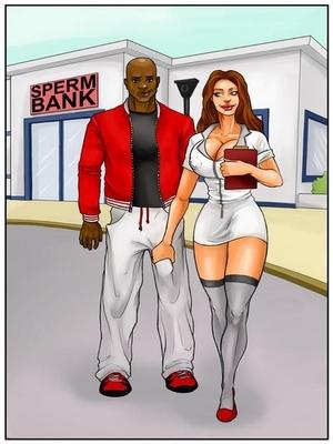 Spermbank 1- Kaos 8muses Interracial Comics