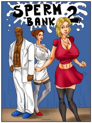 Spermbank 2- Kaos 8muses Interracial Comics