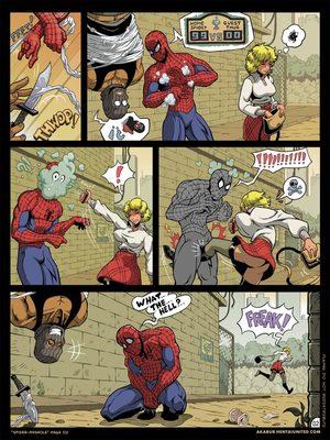 8muses Porncomics Spider-Man XXX- Asshole image 03