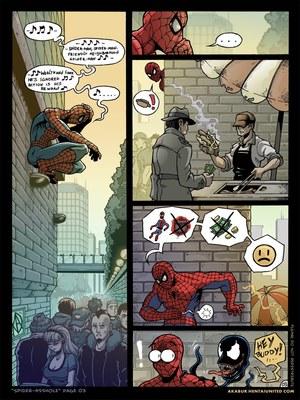 8muses Porncomics Spider-Man XXX- Asshole image 04