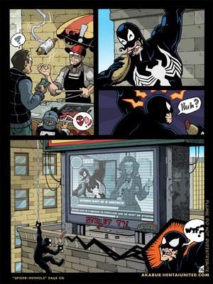 8muses Porncomics Spider-Man XXX- Asshole image 07