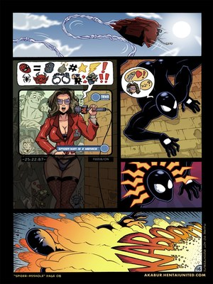 8muses Porncomics Spider-Man XXX- Asshole image 09