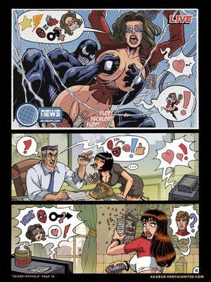 8muses Porncomics Spider-Man XXX- Asshole image 17