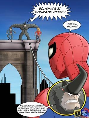 Spiderman- Reward 8muses Adult Comics