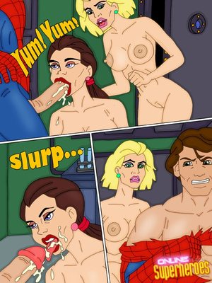 8muses Adult Comics SpiderMan- The Animated Series image 19