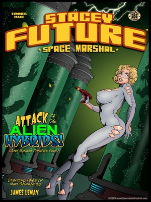 Stacey Future-Space Marshal 2- James Lemay 8muses Porncomics