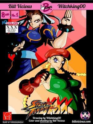 Street Fighter XXX 8muses Hentai-Manga