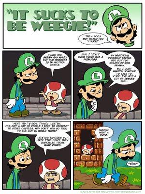 Super Mario- It Sucks to be Weegie 8muses Porncomics