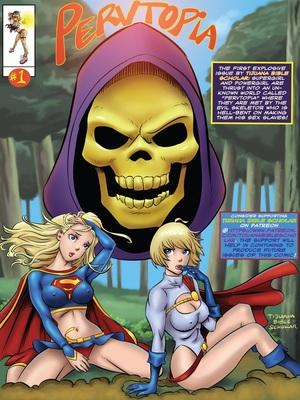 Supergirl and Power Girl- Pervtopia 8muses Porncomics