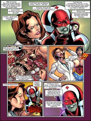 Superheroine  Central- CA2 8muses Porncomics