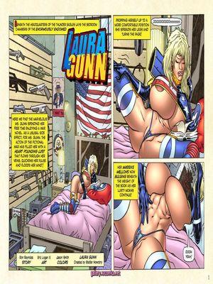 Superheroine Central- Laura Gunn 8muses Porncomics