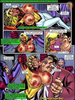 Superheroine Central- Mighty cow 8muses Porncomics
