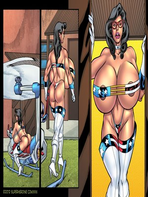 8muses Porncomics Superheroine- Major Wonder Fear Factory Raw image 02