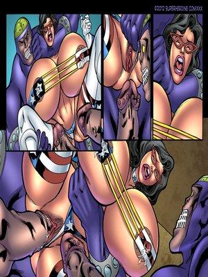 8muses Porncomics Superheroine- Major Wonder Fear Factory Raw image 08
