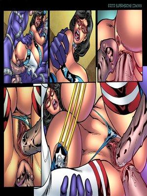 8muses Porncomics Superheroine- Major Wonder Fear Factory Raw image 12