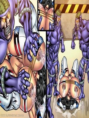 8muses Porncomics Superheroine- Major Wonder Fear Factory Raw image 21