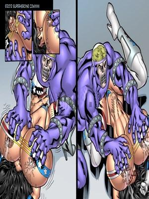 8muses Porncomics Superheroine- Major Wonder Fear Factory Raw image 22