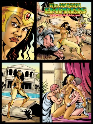 SuperHeroineCentral- Amazon Empress 8muses Adult Comics
