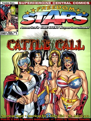 SuperHeroineCentral- Freedom Stars-Cattle call 8muses Adult Comics