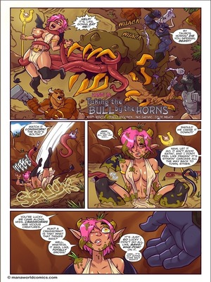 Taking Bull by Horn- Mana World 8muses Furry Comics
