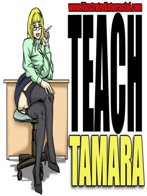 Teach Tamara- illustrated interracial 8muses Interracial Comics