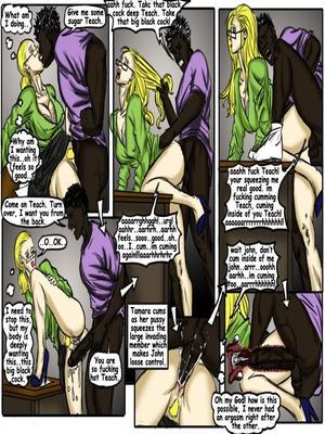 8muses Interracial Comics Teach Tamara- illustrated interracial image 11