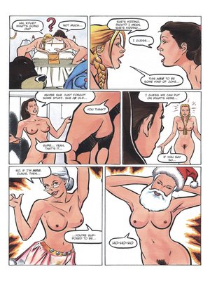8muses Adult Comics Teens at Play Holiday Special- Rebecca image 13