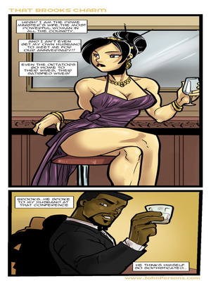 That Brooks Charm- John Persons 8muses Interracial Comics
