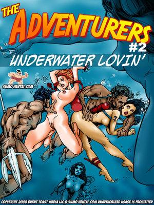 The Adventurers 2- Underwater Lovin 8muses Adult Comics