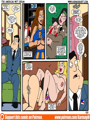 8muses Incest Comics The American Wet Dream (American Dad) image 103
