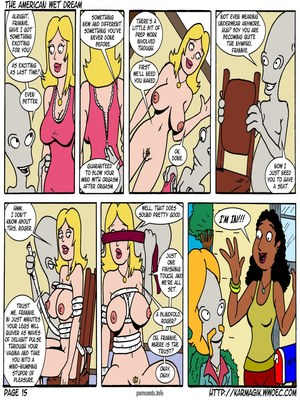 8muses Incest Comics The American Wet Dream (American Dad) image 15
