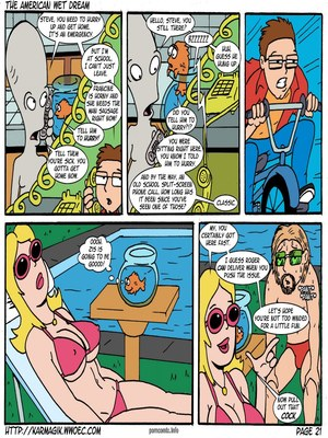 8muses Incest Comics The American Wet Dream (American Dad) image 21