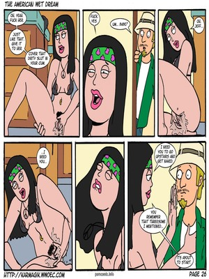 8muses Incest Comics The American Wet Dream (American Dad) image 26