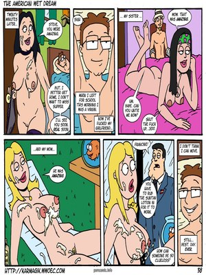 8muses Incest Comics The American Wet Dream (American Dad) image 38