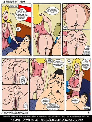 8muses Incest Comics The American Wet Dream (American Dad) image 52
