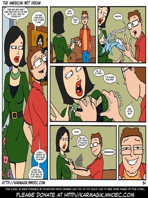 8muses Incest Comics The American Wet Dream (American Dad) image 54
