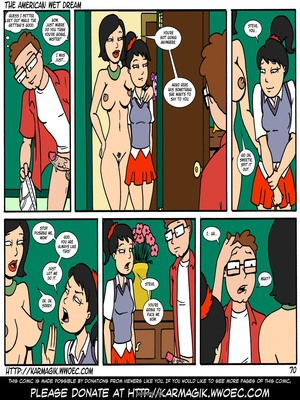 8muses Incest Comics The American Wet Dream (American Dad) image 70