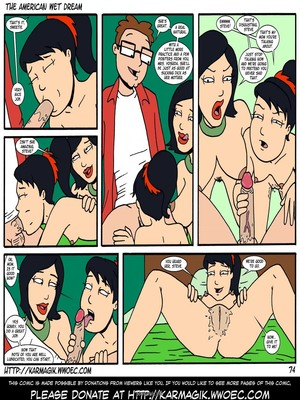 8muses Incest Comics The American Wet Dream (American Dad) image 74