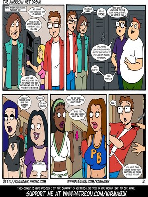 8muses Incest Comics The American Wet Dream (American Dad) image 81