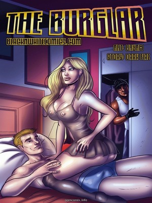 The Burglar- BNW 8muses Interracial Comics