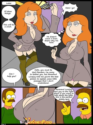 8muses Incest Comics The Contest Ch.2 (Simpsons) (Family Guy) image 05