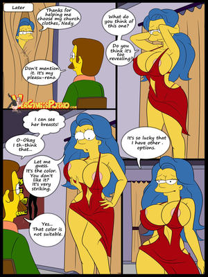 8muses Incest Comics The Contest Ch.2 (Simpsons) (Family Guy) image 15