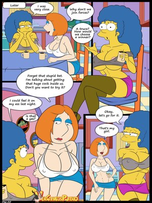 8muses Incest Comics The Contest Ch.2 (Simpsons) (Family Guy) image 23