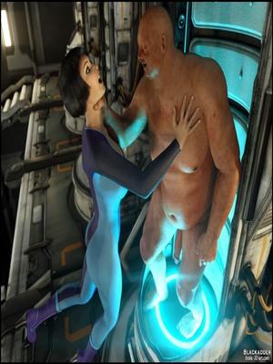 8muses 3D Porn Comics The Cryo Chamber-Blackadder image 05